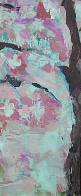 Sakura Painting - Sakura Right Panel by Lovet Harris