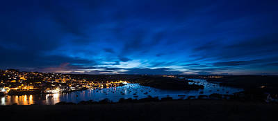 Salcombe Twilight Print by Ollie Taylor