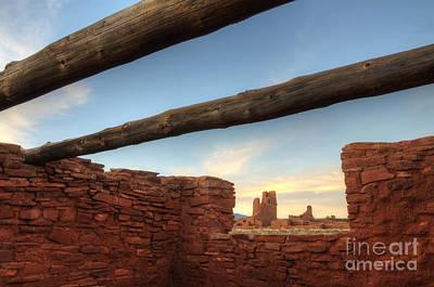 Salinas Pueblo Mission Abo Ruin 2 Print by Bob Christopher