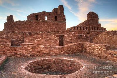 Salinas Pueblo Mission Abo Ruin 3 Print by Bob Christopher