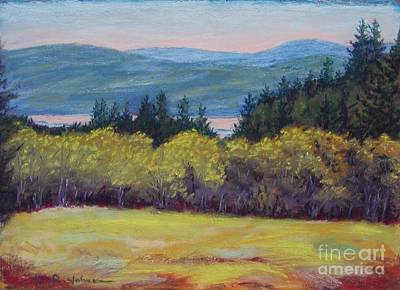 Jana Painting - Salmon River by Jana R  Johnson