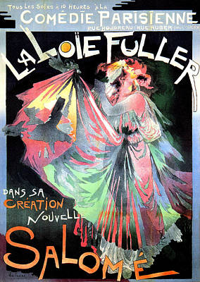 Affiche Mixed Media - Salome by Charlie Ross