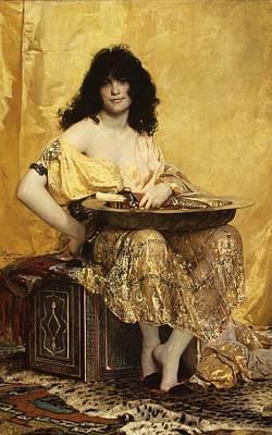 Salome Print by Henri Regnault