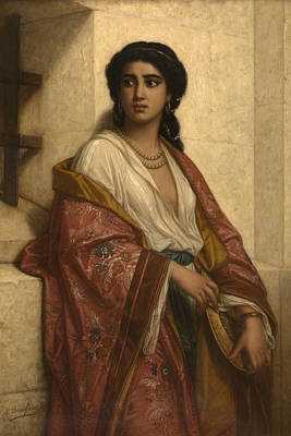 Salome Print by Polydore Beaufaux