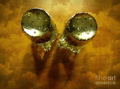 Salt And Pepper Print by Mary Machare