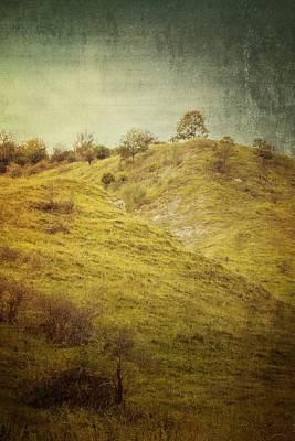 Salt Meadow Mounds Print by Mandy Tabatt