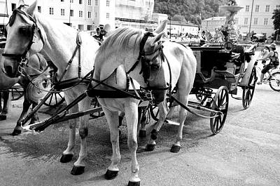 Photograph - Salzburg Holiday Workers by Marty  Cobcroft