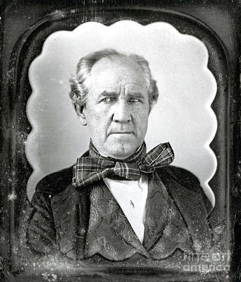 History Of Tennessee Photograph - Sam Houston, American Politician by Photo Researchers