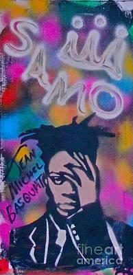 Tony B. Conscious Painting - Samo Jean Basquait by Tony B Conscious