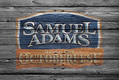 Handcrafted Photograph - Samuel Adams by Joe Hamilton