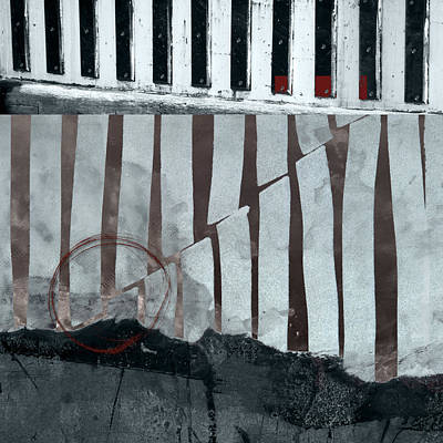Earth Digital Art - San Andreas Fault by Carol Leigh