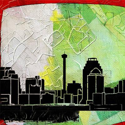 San Antonio 002 B Original by Corporate Art Task Force