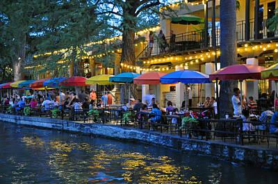San Antonio Cafes Original by David Dittmann