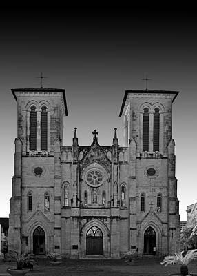 San Antonio - San Fernando Cathedral Print by Christine Till
