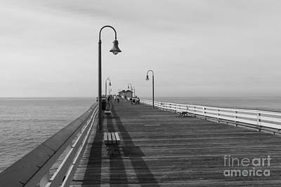 Clemente Photograph - San Clemente Pier by Ana V  Ramirez