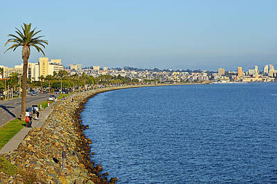 Ocean Photograph - San Diego - America's Finest City by Christine Till