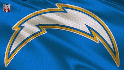 Nfl Photograph - San Diego Chargers Uniform by Joe Hamilton