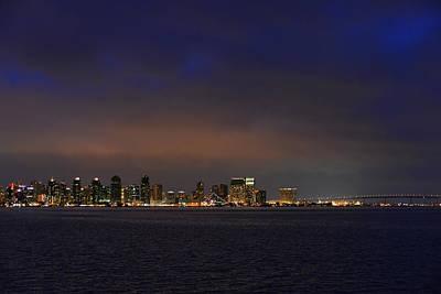 San Diego Night Sky Print by Christine Till