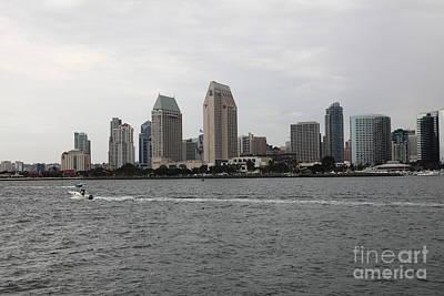 San Diego Embarcadero Park Photograph - San Diego Skyline 5d24335 by Wingsdomain Art and Photography