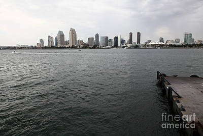 San Diego Embarcadero Park Photograph - San Diego Skyline 5d24337 by Wingsdomain Art and Photography