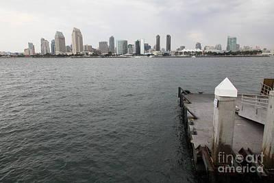 San Diego Embarcadero Park Photograph - San Diego Skyline 5d24348 by Wingsdomain Art and Photography
