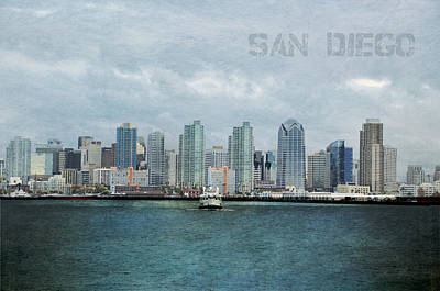 San Diego  Print by Sofia Walker