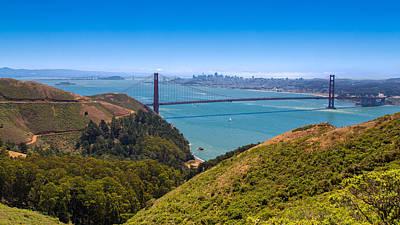 Presidio Park Photograph - San Francisco Bay by John M Bailey