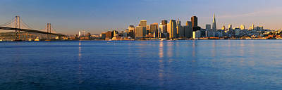 San Francisco, California Skyline Print by Panoramic Images