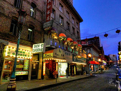 Architectural Photograph - San Francisco - Chinatown 007 by Lance Vaughn