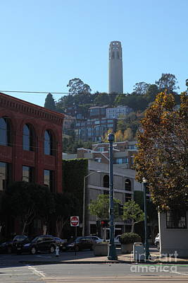 Metro Art Photograph - San Francisco Coit Tower 5d25953 by Wingsdomain Art and Photography