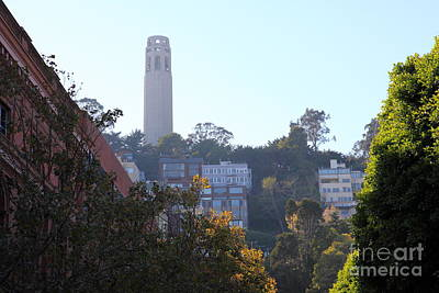 Metro Art Photograph - San Francisco Coit Tower 5d26178 by Wingsdomain Art and Photography