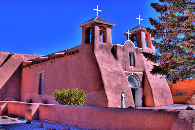 Taos New Mexico Photograph - San Francisco De Asis Mission Church by David Patterson