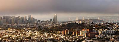 California Photograph - San Francisco From Bernal Heights by Matt Tilghman