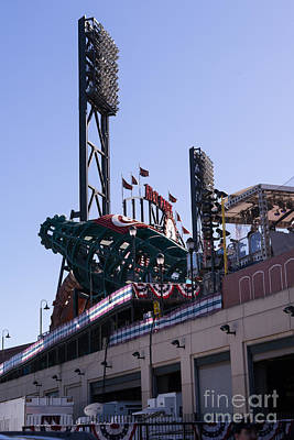 Att Park Photograph - San Francisco Giants World Series Baseball At Att Park Dsc1885 by Wingsdomain Art and Photography