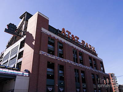 San Francisco Giants World Series Baseball At Att Park Dsc1886 Print by Wingsdomain Art and Photography