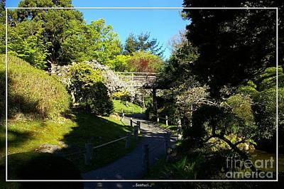 San Francisco Golden Gate Park Japanese Tea Garden 7 Print by Robert Santuci