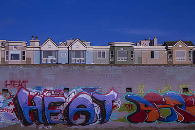 San Francisco Graffiti Print by Garry Gay