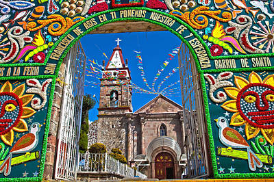 Religious Art Photograph - San Francisco Mexico by John  Bartosik