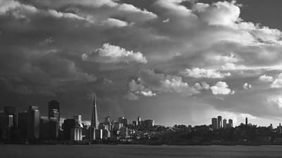 Bnw Photograph - San Francisco Skyline by Sean Foster