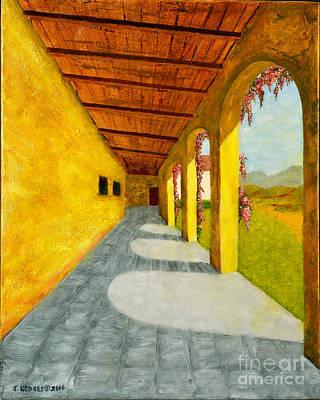 Mission San Juan Capistrano Painting - San Juan Capistrano Mission by Jack Hedges