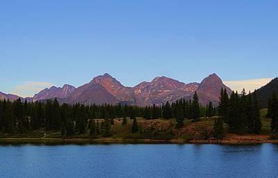 Base Path Photograph - San Juan Mountain Range by Dan Sproul