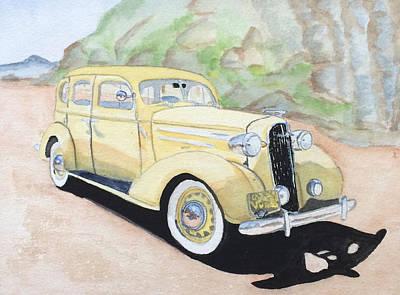 Antic Car Photograph - San Luis Obispo Chevy  by Riki Colby