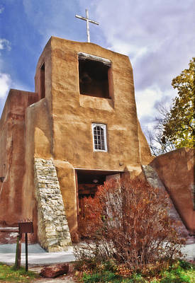 United States Mission Church Photograph - San Miguel Mission by David and Carol Kelly