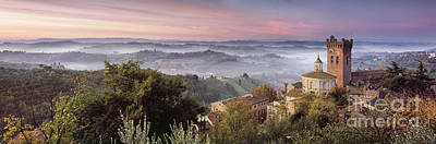 Hill Town Photograph - San Miniato - Tuscany by Rod McLean