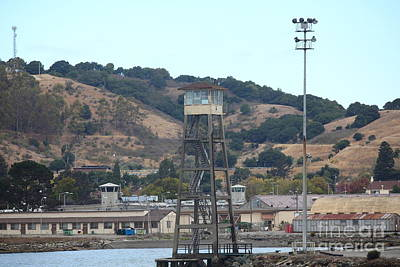 San Quentin Prison In Marin County California 5d29357 Print by Wingsdomain Art and Photography