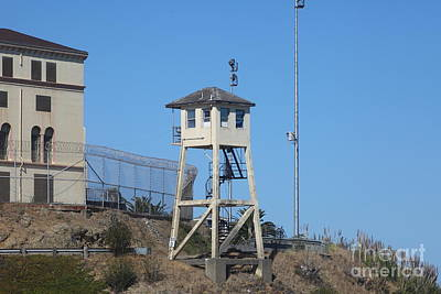 San Quentin Prison In Marin County California 5d29481 Print by Wingsdomain Art and Photography