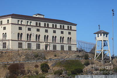 San Quentin Prison In Marin County California 5d29482 Print by Wingsdomain Art and Photography