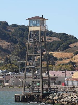 San Quentin Prison In Marin County California 5d29483 Print by Wingsdomain Art and Photography