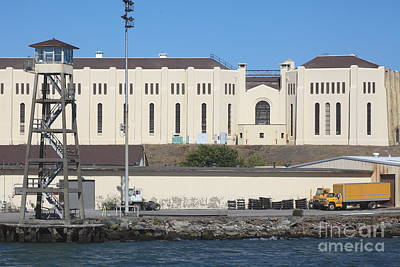 San Quentin Prison In Marin County California 5d29485 Print by Wingsdomain Art and Photography
