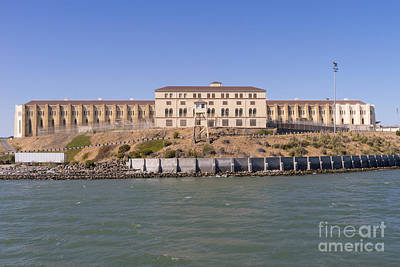 San Quentin Prison In Marin County California Dsc1663 Print by Wingsdomain Art and Photography